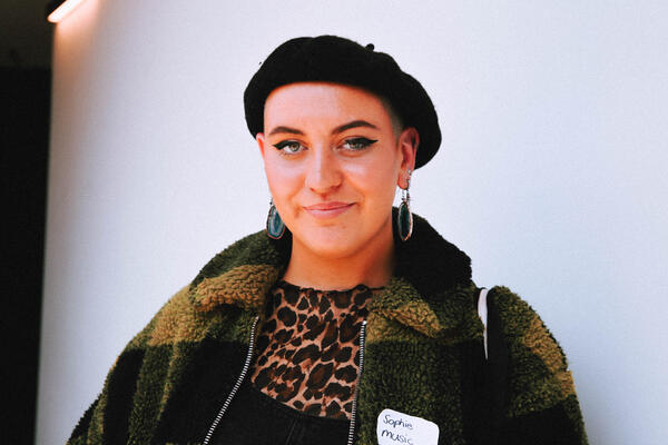 Sophie - student in beret